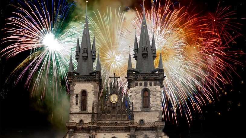 praga revelion focuri de artificii 1