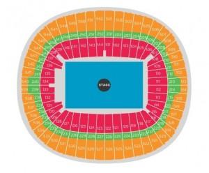 harta Concert Adele Londra 1 iulie 2017